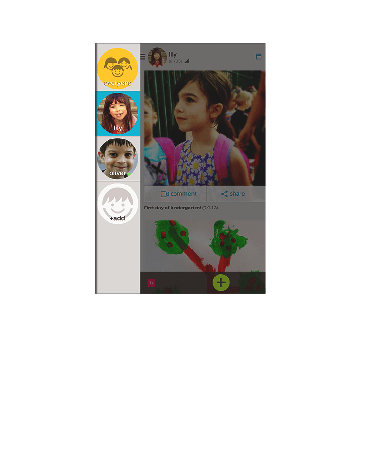 Keep on keepying on everyday to build a beautiful, organized timeline of your family's memories.
